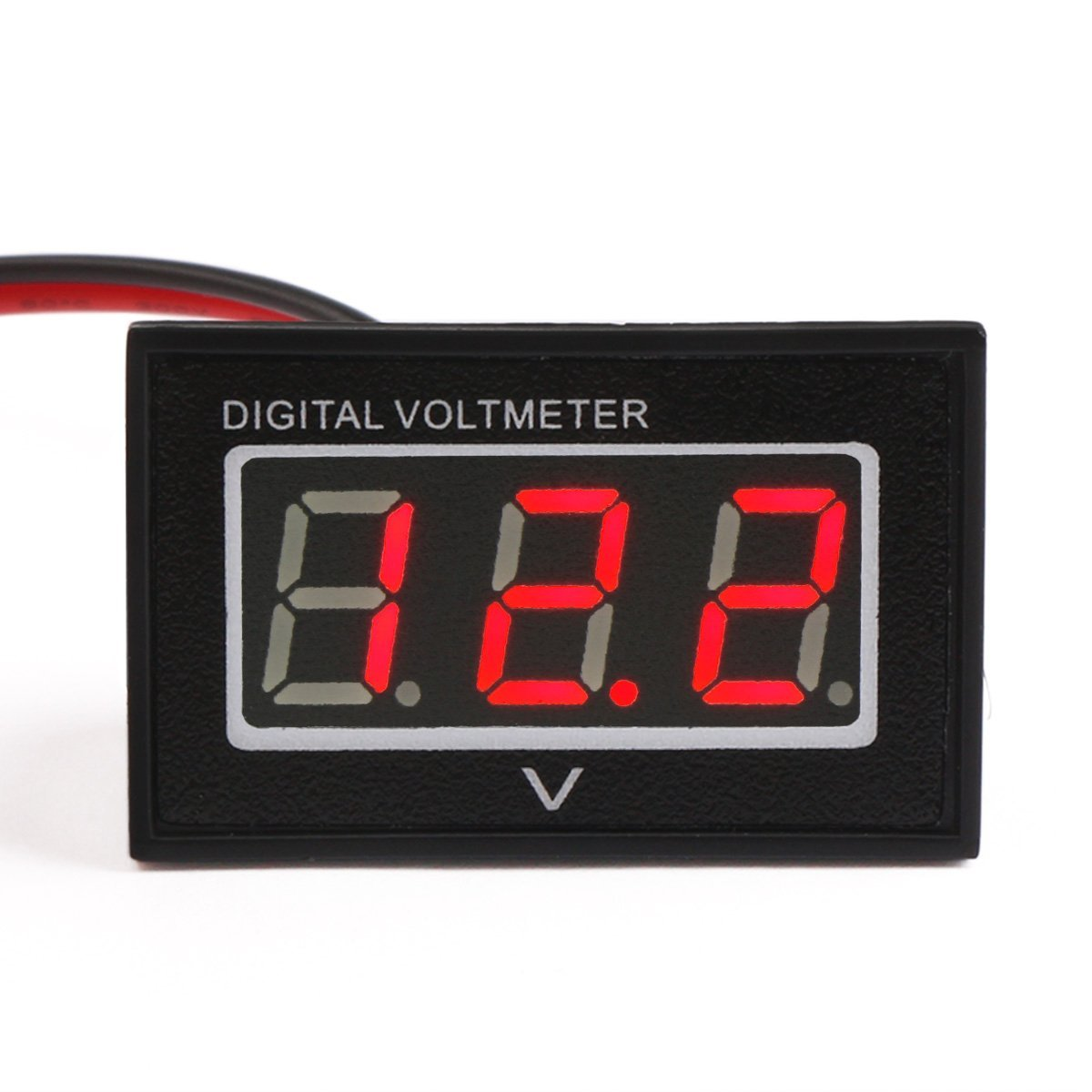 DROK DC Voltage Voltmeter – droking  Amp Drok Voltmeter Wiring Diagram on