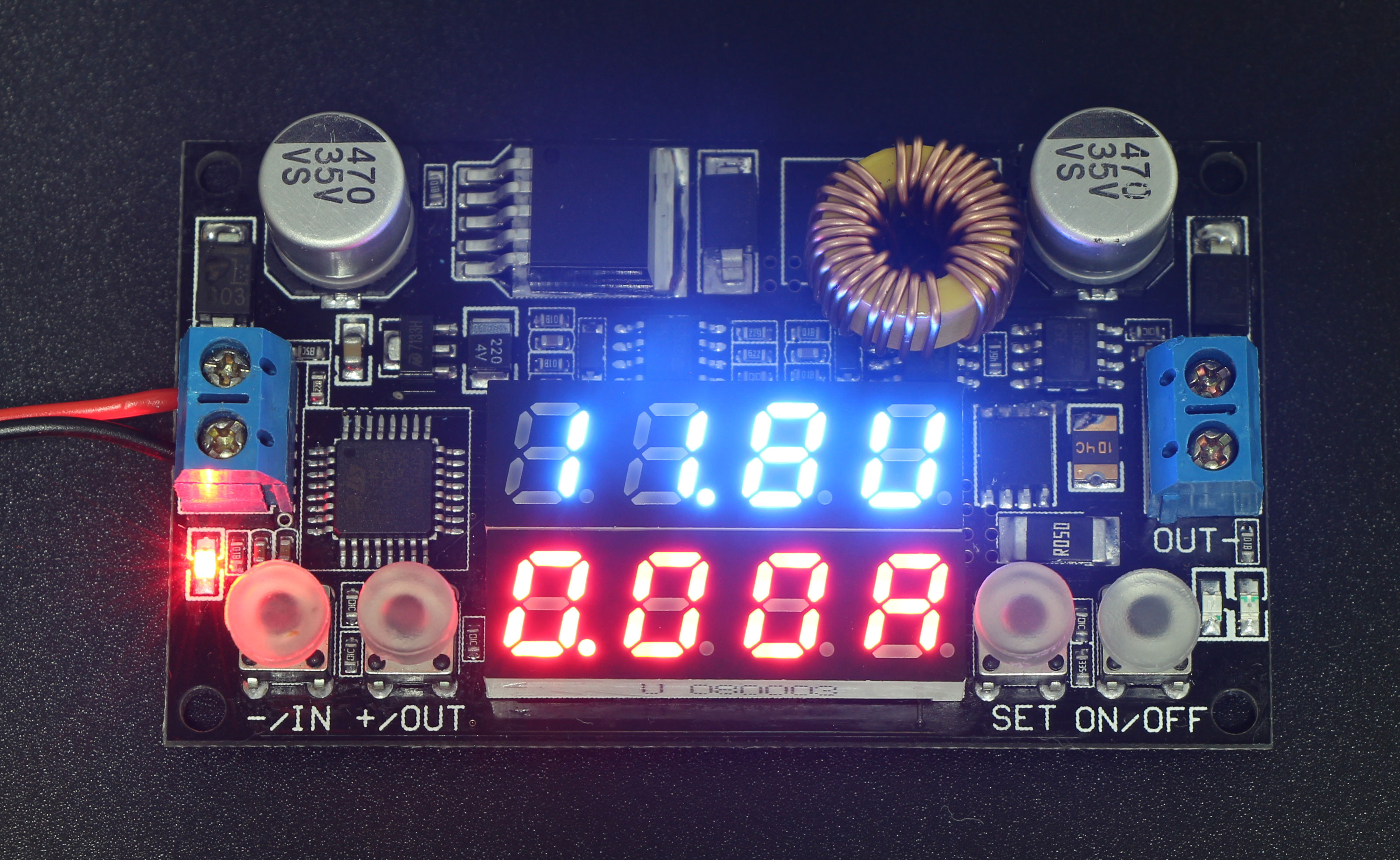 Numerical Control Constant Current Voltage Regulator Dual Led Our Schematic Display