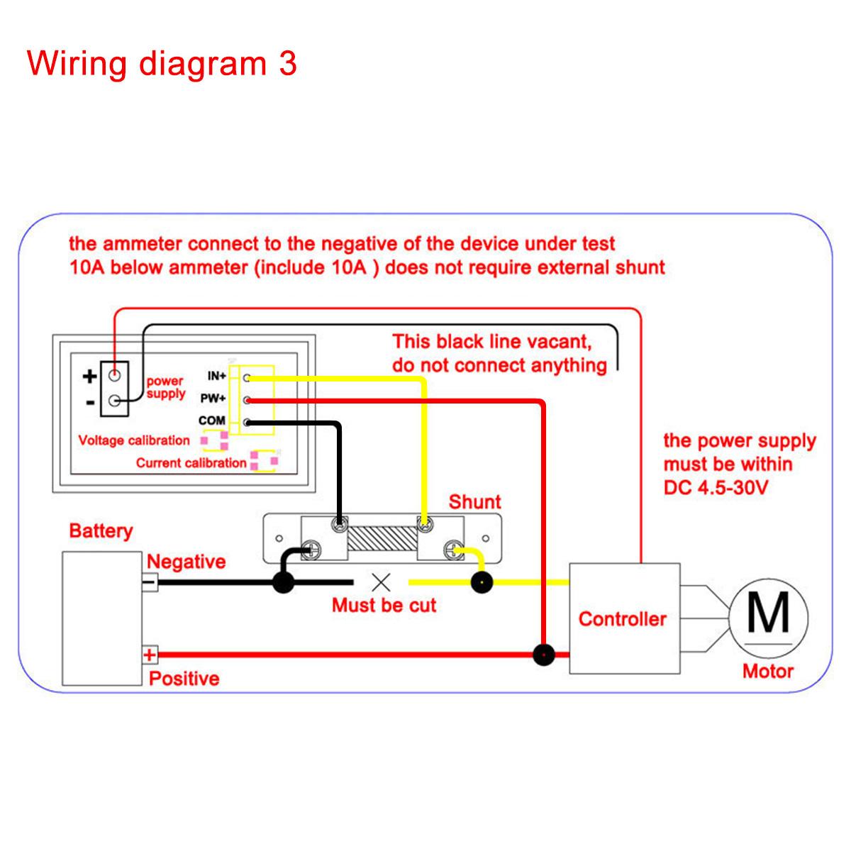 Wiring Diagram For 100015 Amp  V Meter  U2013 Drok Blog