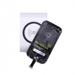 Universal Wireless Charger Qi Wireless Charger Transmitter Pad + Wireless Charging Receiver for iphone 6/6Plus