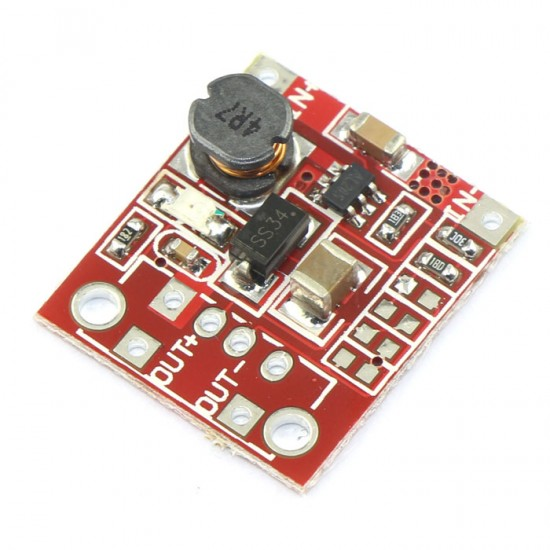 Power Supply Module DC 2.5V~6V to 4~12V 1A Boost Converter/Voltage Regulator/Adapter/Driver Module/DIY Charger