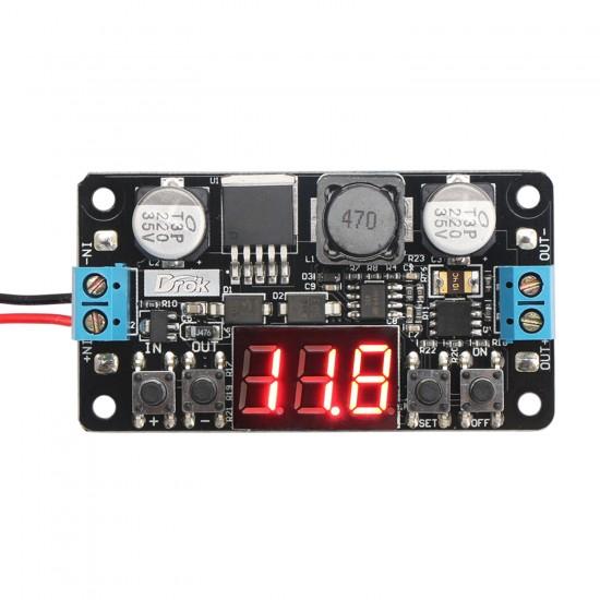 30W Power Supply Module DC 5~32.0V to 0~30.0V Buck Converter/Adjustable Voltage Regulator DC 12V 24V Adapter/Driver Module With Voltmeter