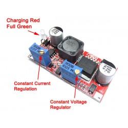 DC Buck Converter, Power Adapter DC 7~35V to 1.25~30V 3A Buck/Adjustable Voltage Regulator DC 12V 24V Power Supply Module/Driver Module