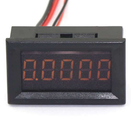 Digital Current Monitor 5 bit Digital DC Ammeter 0-3A AMP Meter Red/Blue/Yellow/Green LED Current Monitor Built-in Shunt