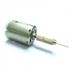 DC12V Drilling motor with Drill Bits  0.8mm Mini Drill For PCB DIY ect