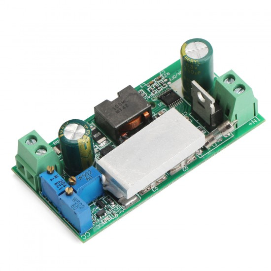 100W Power Supply Module DC 10~50V to 1~36V 10A Adjustable Buck Converter DC 12V 24V Voltage Regulator/Adapter/Charger
