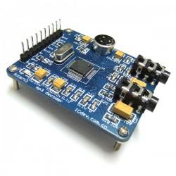 DC Boost Voltage Regulator DC 3.5V-30V to 3.5V-30V 6A 100W Adjustable Converter with Red LED Voltmeter