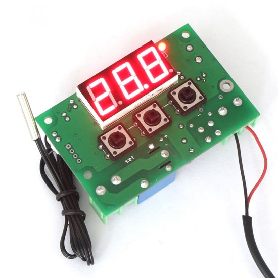 12v Digital Heating Thermostat Temp Control 50 110 C Temperature Controller