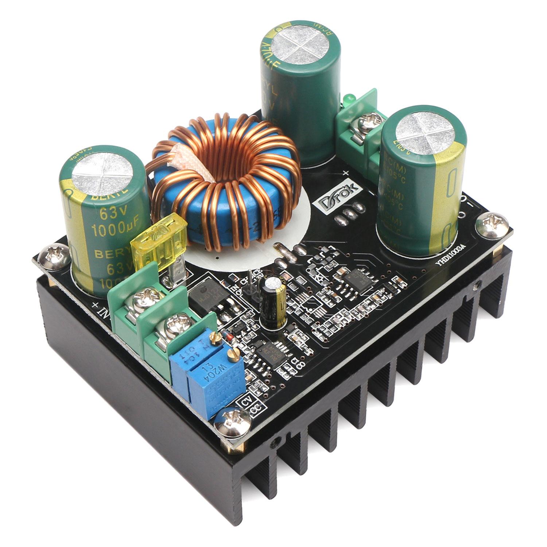600w Constant Current 12 60v To 80v Dc Step Up Electrical Regulator Booster Converter