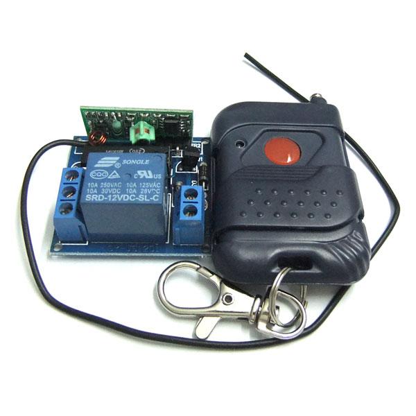 Remote Control Wireless Remote Controller DC 12V 1 Channel Remote Control Self Lock Switch Board