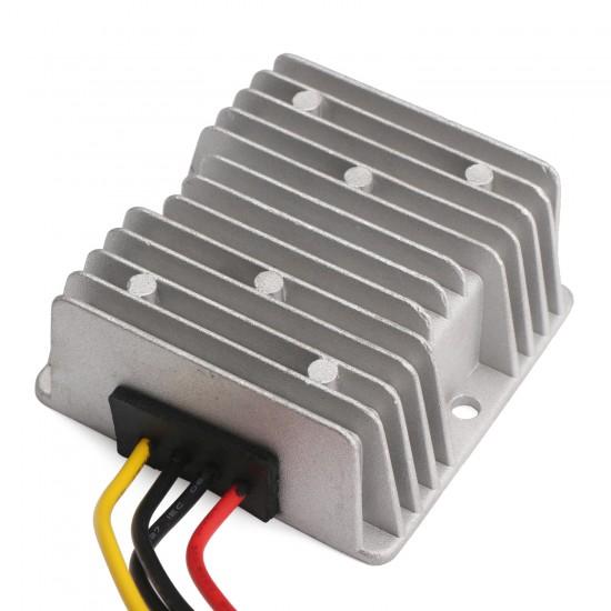 DC Boost Power Supply Module DC 12V (9V~24V) to 24V 5A 120W Voltage Regulator/Car Converter/Power Adapter/Driver Module Waterproof