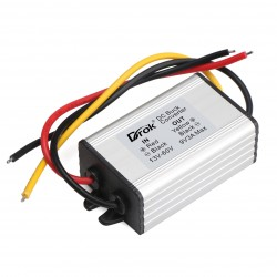 27W Voltage Regulator DC 9~60V to 9V 3A 27W Buck Power Supply Module/Power Converter/Car Adapter/Driver Module Waterproof