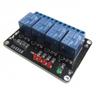 5V 4 Relay Module Extension MCU Development Board Module for 51 AVR ARM PIC