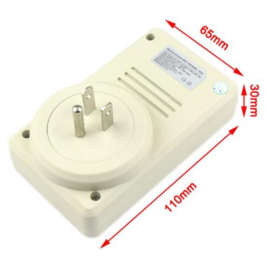 Multifunction WF-D02A AC Power Meter USA Version LCD Voltage Measure Watt Socket