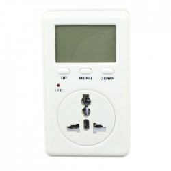 Multi-function Italy Plug Socket Power Meter Electricity Monitoring AC 160-280V Metering socket