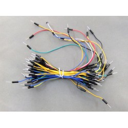 1 Bundles (about 60x Lines)Test Experimental Jump Wires Cables Bread Board Jump wires
