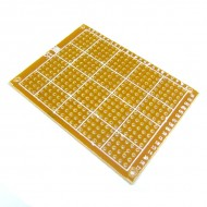 10x PCB Prototype Paper Universal Experiment Board 5x7cm 2.54mm Matrix Board Test Experimental Board