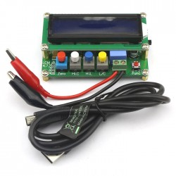 LC100-A Inductance Capacitance Meter with Mini USB Cable