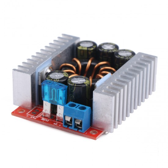 Power Supply Module/Adapter DC 4~32V to 1.2~32V 15A Buck Converter/Adjustable Voltage Regulator DC 5V 12V 24V Charging Module/Driver Module