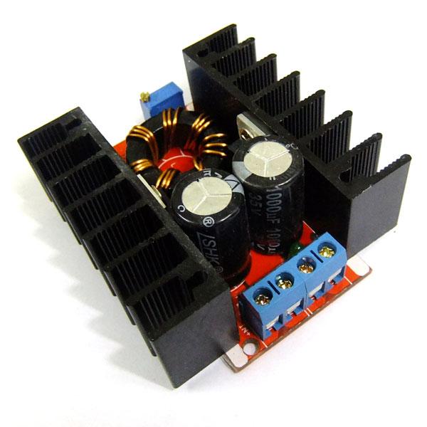 150W Power Supply Module DC 10~32V to 12~35V 6A  Boost Voltage Regulator DC 12V 24V Car Car Power Supply/Adapter/Driver Module