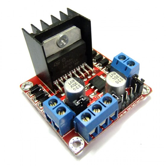 L298N Dual H-Bridge Motor Driver Module DC 5V~35V 2A 25W Power Supply Module/Driver Module for Step motor Smart car Robot etc
