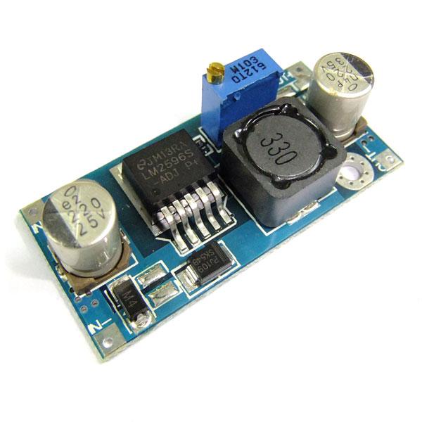 DC Buck Converter DC 4~35V to 1.23~30V 3A Adjustable Voltage Regulator/Power Supply Module DC 5V 12V 24V Adapter/Charging module