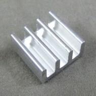 IC Chip Radiator 11x11x5.5mm Aluminum Heat Sink for Memory MOS Tube Heatsink