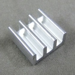 IC Chip Radiator 11x11x5.5mm Aluminum Heat Sink for Memory MOS Tube Heatsink