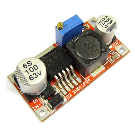 DC Buck Converter DC 4.5~35V to  3~33.5V 3A Adjustable Voltage Regulator DC 5V 12V 24V Power Supply Module/Adapter/Driver Module