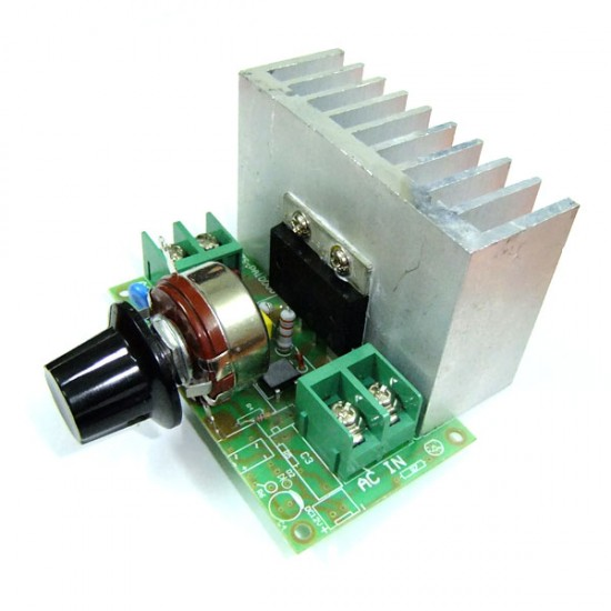 110V 7000W SCR High-Power Electronic Voltage Regulator Thermostat Governor Dimming for water heater/lighting/motor/electric iron etc