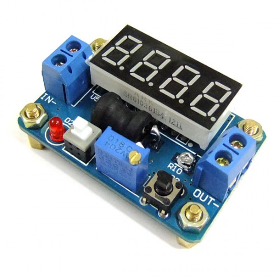 DC 4.5-24V to 0.93-20V Stepdown Module With voltage Current Display Regulator Power Supply Module