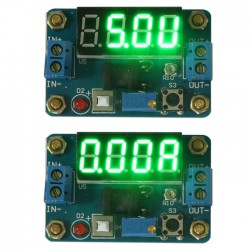DC 4.5-24V to 0.93-20V Regulator power Supply With Voltage Current Meter Display Buck Module
