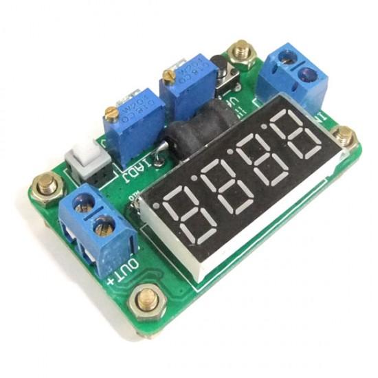 20W Power Supply Module DC 4.5~24V to 0.93V~20V 2A Power Converter/Buck Adjustable Voltage Regulator DC 5V 12V Adapter/Driver