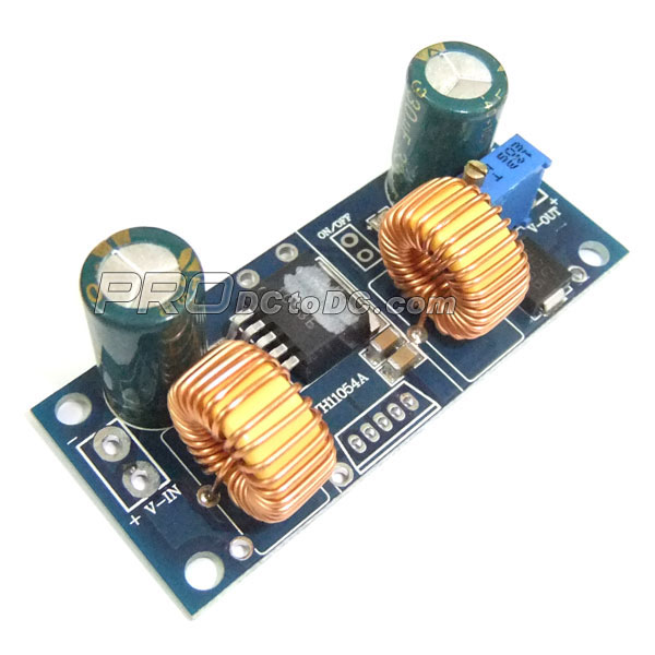 Auto Boost Buck Converter DC 4.5~32V to 1.25~32V 4A Adjustable Voltage Regulator DC 5V 12V 24V Charging Module/Adapter/Driver