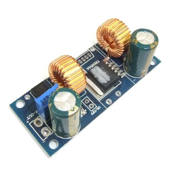 Auto Boost Buck Converter DC 4.5~32V to 1.25~32V 4A Adjustable Voltage Regulator DC 5V 12V 24V Charging Module/Adapter/Driver