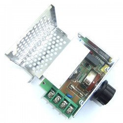 Adjustable Power Supply 1100W AC 220V To 0-55V Voltage Regulator Thermostat Dimmer Speed Control