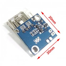 Power Supply Module DC 2.5V~5V to 5V 1A Battery Charging Circuit Module/Power Converter DC 5V USB Adapter/USB Charger
