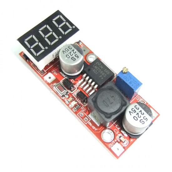 15W Power Supply Module DC 4.5~27V to 1.3V~25V 1.5A Power Converter/Voltage Regulator DC 5V 12V 24V Adapter/Driver Module