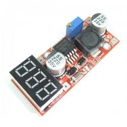 15W Power Converter/Voltage Regulator DC 4.5~27V to 1.3V~25V Buck Power Supply Module DC 5V 12V 24V Adapter/Driver Module