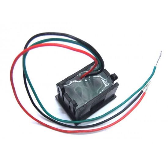 Digital Tester/Voltmeter DC 0~100V Voltage Meter Red/Blue/Green/Yellow Led display Volt Meter/Panel Meter DC 12V 24V Digital Meter/Monitor