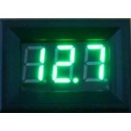 DC 0~100V Voltmeter/Panel Meter Red/Blue/Green/Yellow Led display Voltage Meter/Digital Meter DC 12V 24V Volt Meter/Monitor Tester