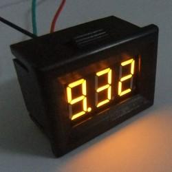 Digital Tester/Voltmeter DC 0 ~10V Digital Voltage Meter Red/Blue/Green/Yellow Led display Volt Meter/Power Monitor/Digital Meter/Panel Meter