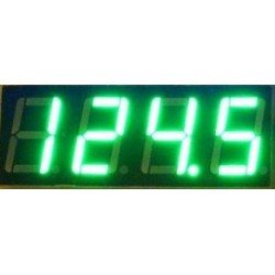 Digital Tester/Voltmeter DC 0 ~ 200V Voltage Meter DC 12V 24V Volt Meter/Monitor Green Led display Digital Meter/Panel Meter