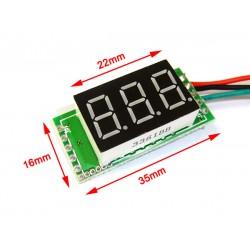 Digital Voltage Meter/Tester DC 0~100V Voltmeter Red/Yellow/Blue/Green Led display Volt Meter/Digital Meter DC 12V 24V Panel Meter/Monitor