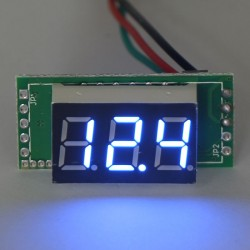 Digital Meter/Voltmeter DC 0~100V Voltage Meter Red/Yellow/Blue/Green Led display Volt Meter DC 12V 24V Panel Meter/Monitor/Tester