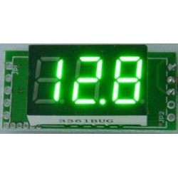 Digital Meter/Voltage Meter DC 0~100V Voltmeter/Panel Meter Red/Yellow/Blue/Green Led display Volt Meter DC 12V 24V Monitor/Tester
