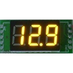 Digital Voltmeter/Digital Tester DC 0~100V Voltage Meter Red/Yellow/Blue/Green Led display Volt Meter/Digital Meter DC 12V 24V Panel Meter/Monitor