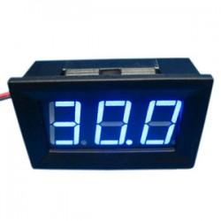 Digital Voltage Meter/Digital Tester DC 30 ~70V Voltmeter Red/Blue/Green Led display Digital Meter/Panel Meter DC 36V 48V 60V Volt Meter/Monitor