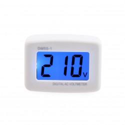 Digital Voltmeter AC 10V/220V 80~300V Voltage Meter Flat Plug Electric Pen Meter Voltage Tester