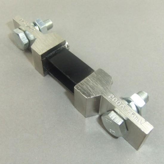 DC 200A 75mV Ammeter Shunt DC 0-200A Shunt Resistors For Digital Ammeter